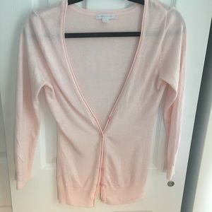 New York and Company Pink Cardigan, XS